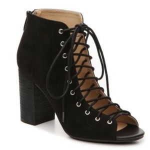 "New! Chinese Laundry ""Biggest"" Lace-Up Bootie"